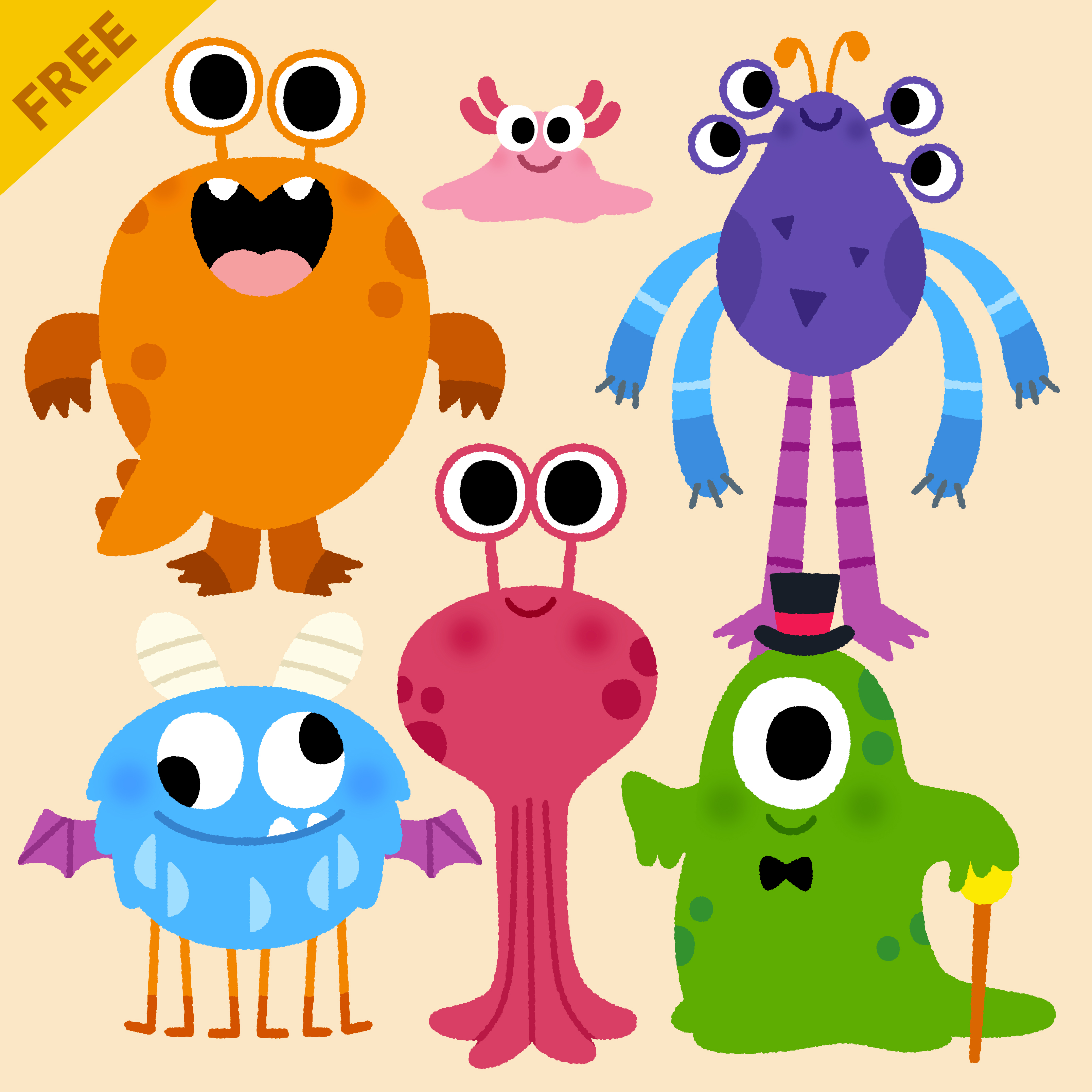 cutout_monsters